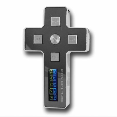 Cross MP3 Player 4GB - Two Color LCD Display