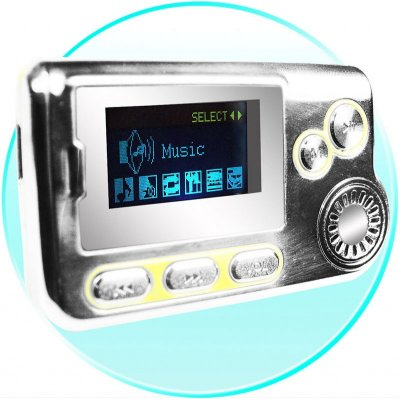 Small MP3 Player with Speaker