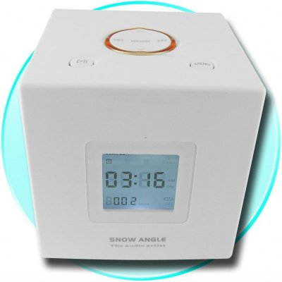 MP3 Alarm Clock 4GB - FM + MP3 Alarm Setting