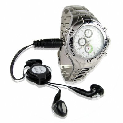 Watch MP3 Player + WAV Recorder - 1GB