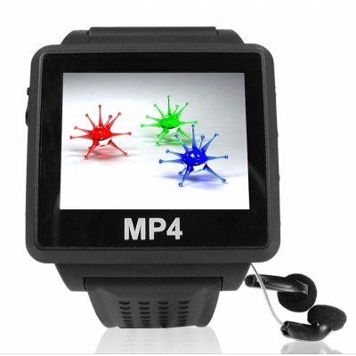 Bluetooth MP4 Watch