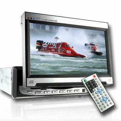 Wholesale 7 Inch In Dash TFT LCD Monitor 169 With DVD Player From China