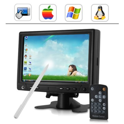 Wholesale 7 Inch Touchscreen LCD With VGA From China
