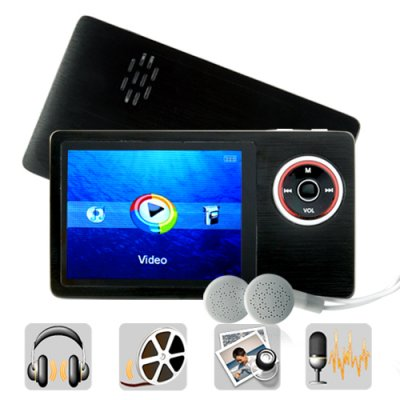 MP4 + MP3 + Flash PMP With Speaker