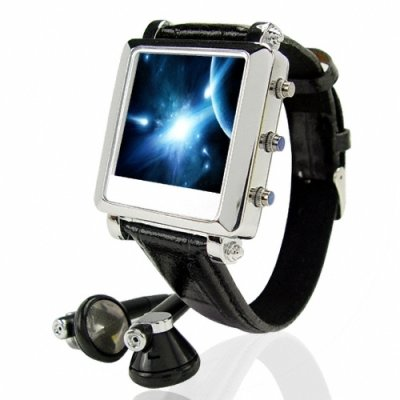 1.5 Inch LCD MP4 Watch Player