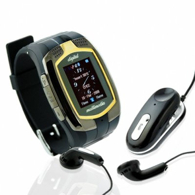 Tri-Band Cellphone Watch