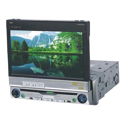 Car DVD Player - 7-Inch Screen + TV Tuner