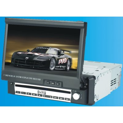 Car DVD Player With 7 Inch TFT LCD Screen With FM Radio