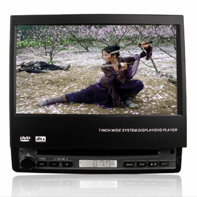 Widescreen Car DVD Player with 7 Inch Touchscreen + Bluetooth