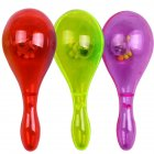 Children Cheering Light up Maracas Toys Battery Operated LED Glowing Rattle for Party Random Color