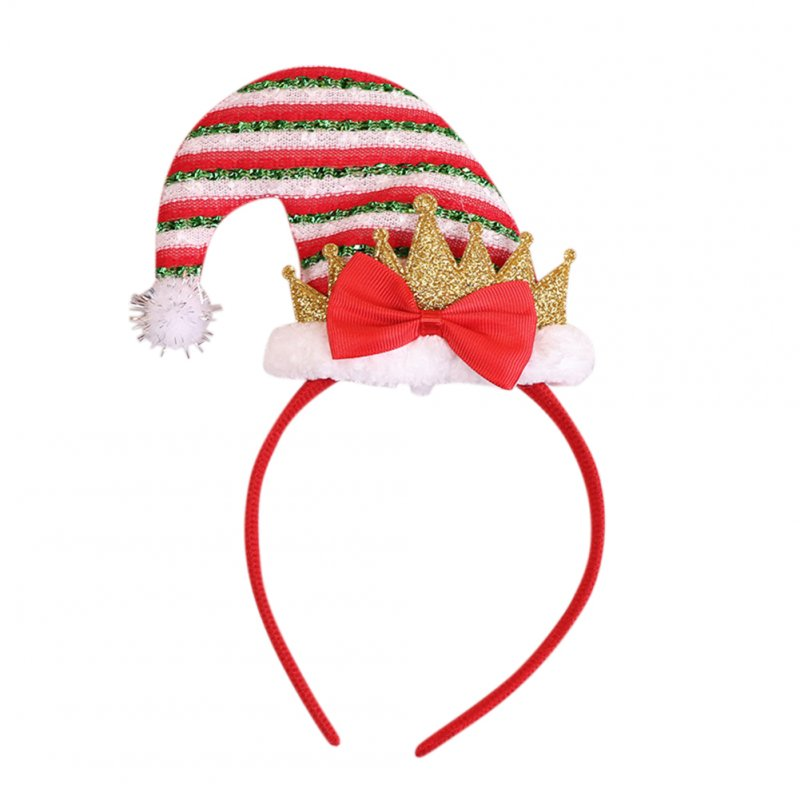 Children Christmas Style Hair Band Unique Performance Cartoon Headband Props