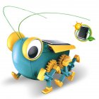 Children Educational Solar Energy DIY Toy Experiment Science Teaching Assembly Handmade Big Eye Insect