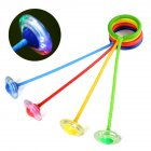 Children Flashing Jumping Ring Colorful Ankle Skip Jump Ropes Sports Swing Ball