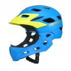Children Full Face Covered Helmet Bike Motorcycle Kids Skating Sport Safety Guard Bicycle Helmet