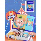 Children Fun Magnetic Puzzle Cartoon Magnet Puzzle Game for Brain Development  Portrait