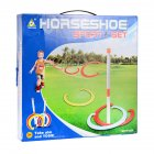 Children Horseshoe Play Set Toss Games Toys