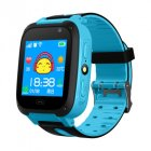 Children Kids Smart Watch Anti-Lost SOS Tracker Smartwatch   [Y09-S] black and blue