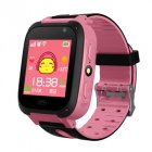 Children Kids Smart Watch Anti-Lost SOS Tracker Smartwatch  [Y09-S] black pink