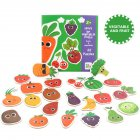 Children Large Matching Puzzle Games Early Learning Card My First Jigsaw Puzzle Toys for Children Kids Educational Toys Fruit and vegetable puzzle