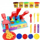Children Plasticine Mold Set Ultra-light Clay Color Handmade Mud DIY Educational Toys for Kids Hamburger  machine