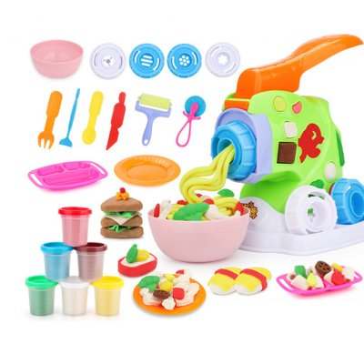 Children Plasticine Mold Set Ultra-light Clay Color Handmade Mud DIY Educational Toys for Kids Gourmet pasta machine