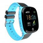 Children <span style='color:#F7840C'>Smart</span> <span style='color:#F7840C'>Watch</span> GPS Positioning Wristwatch Card Photo Camera for Student Kids blue