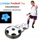 Children Suspended Football With 2 goals with LED lights Set for Kids random style