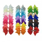 Children Swallowtail Bowknot Hair Clip Hairband Ornament Gift - 20pcs/Set