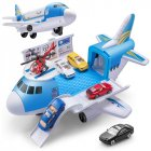Children Transport Plane Toy Static Model Toys For Transport Aircraft Container Truck Track Aviation 907A