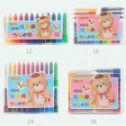 Children Water-soluble Oil-painting Stick Multi Colors Crayon Kit