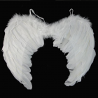 Children`s White FEATHER ANGEL WINGS