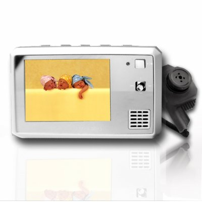 Button Camera with MP4 Player 256MB Flash