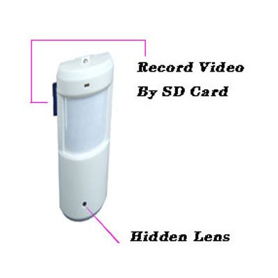 Hidden Camera, Support: SD Card