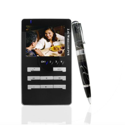 Wireless Camera Pen - Included Solar Charger