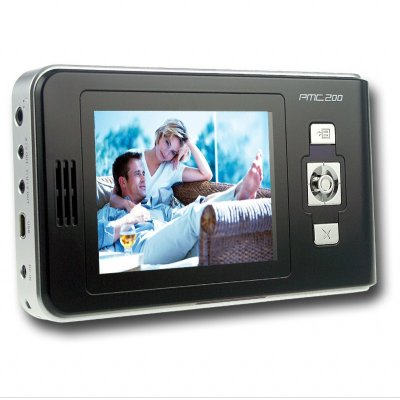 MP4 HDD Media Player - 2.5 Inch IDE 40-120GB Memory