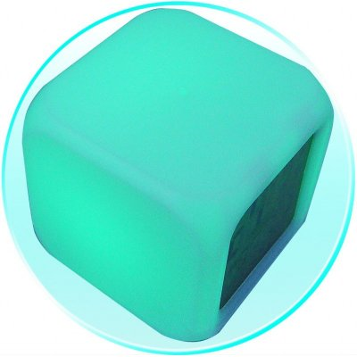 Color Changing Cube LED Alarm Clock + Date + Temperature - 10pcs