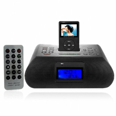 IPod Clock Radio With Bluetooth