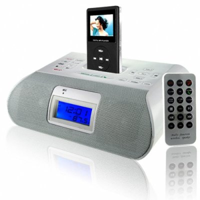 Bluetooth Ipod Clock Radio