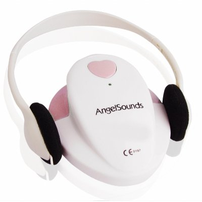 Fetal Microphone - Pregnancy Heartbeat Detection -Pink