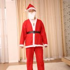 Christmas Costume Santa Claus Costumes Women s and Men s Wear Performances Clothing