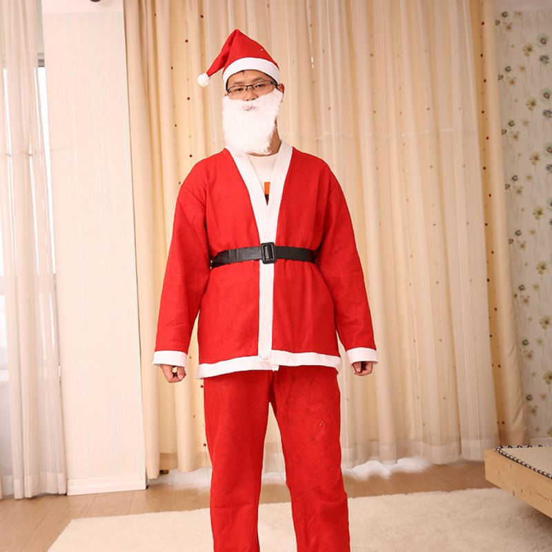 Christmas Costume Santa Claus Costumes Women's and Men's Wear Performances Clothing