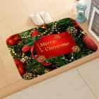 Christmas Doormat Kitchen Mat Non-Slip Rug Decoration for Home Happy New Year Xmas Ornaments 40*60cm
