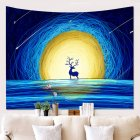 Christmas Home Printed Hanging Tapestry Wall Decoration Carpet Tapestry  L181128-G3_150*100cm
