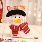 Christmas Stocking Decorations Children Gift Candy Bag Socks Tree Decoration Small socks snowman