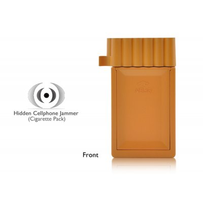 Cigarette box phone - phone jammer cigarette odor