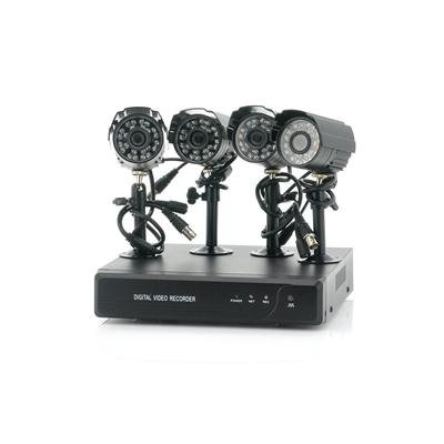 4CH DVR + 4 Outdoor Camera Kit - Spookfish