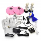 Classic Couples SM Game Electric Shock Pulse Accessories A Set of 11 Pcs 11pcs/set of accessories