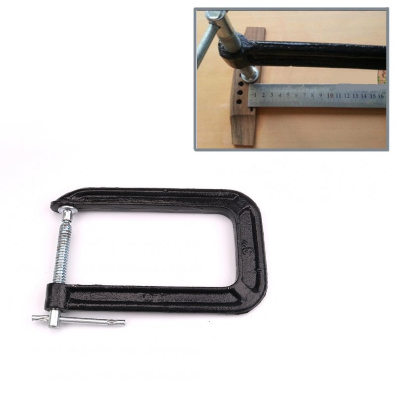 Classical Guitar-Bar Clamp Guitar Bridge Replace Making Repairing Tools Neck Crack Clip black