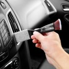Cleaning  Brush 2 In 1 Car Air-conditioner Outlet Cleaning Tool Multi-purpose Dedusting Interior Brush Washer Black 7882
