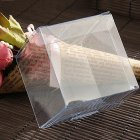 Clear Square Plastic Boxes for Wedding Party Gift Favor